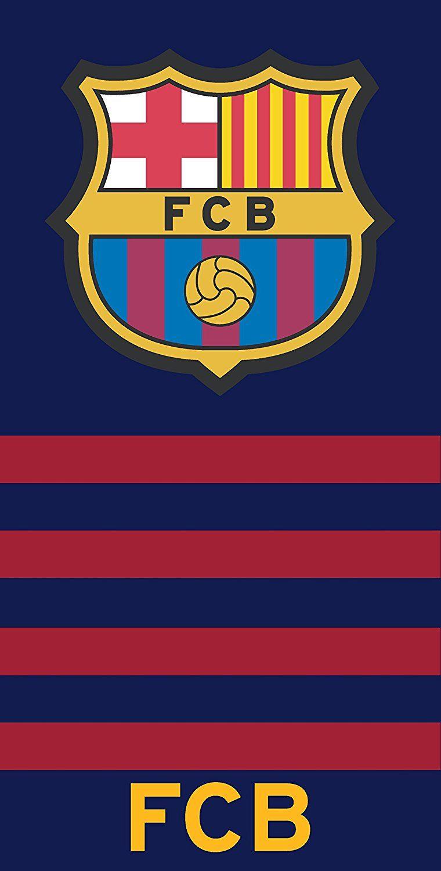 7685d4d1b3d89e 100% Coton FC Barcelone Serviette de bain- Drap de plage   BARCA ...