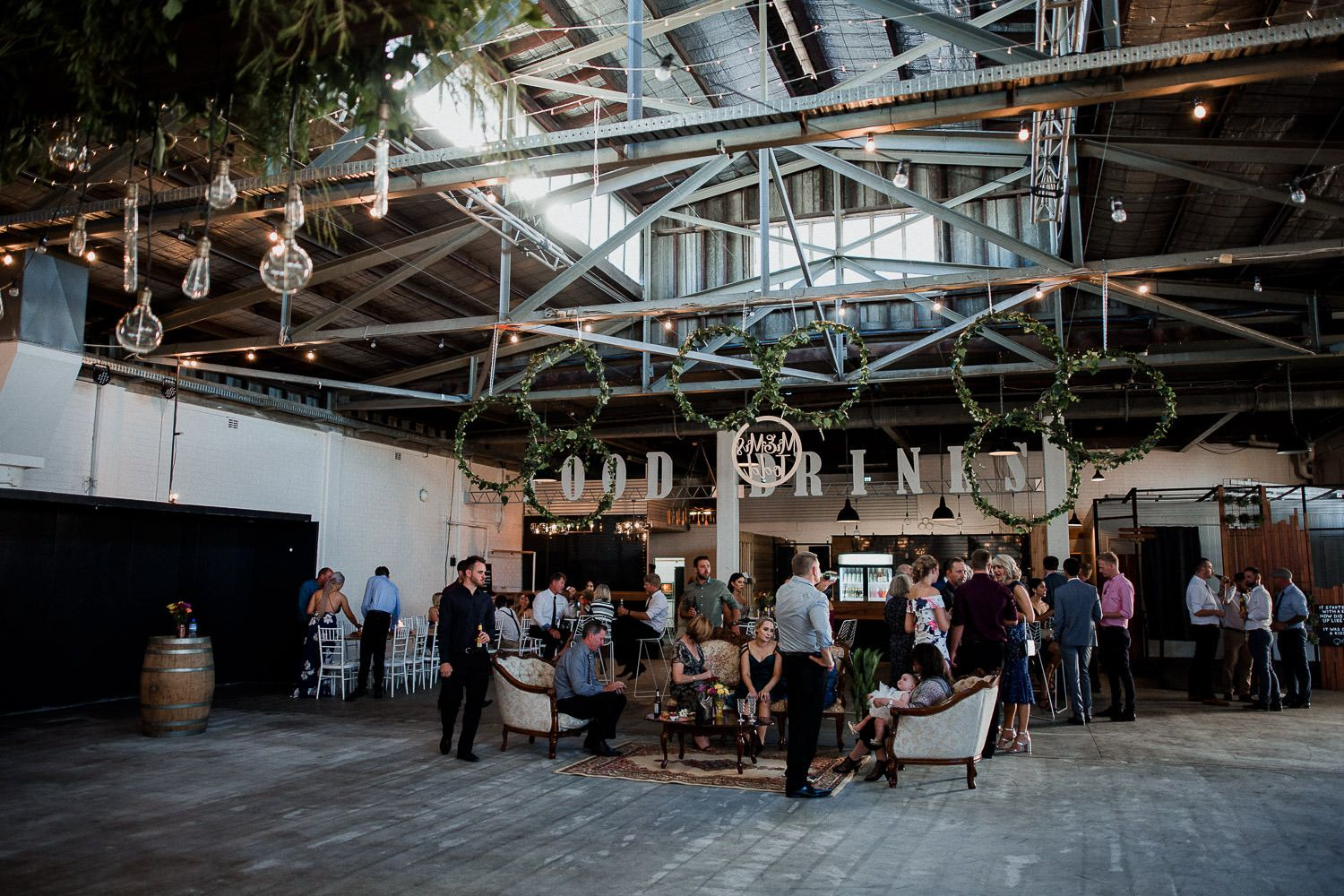 If you're looking for a rustic charm warehouse-style venue ...