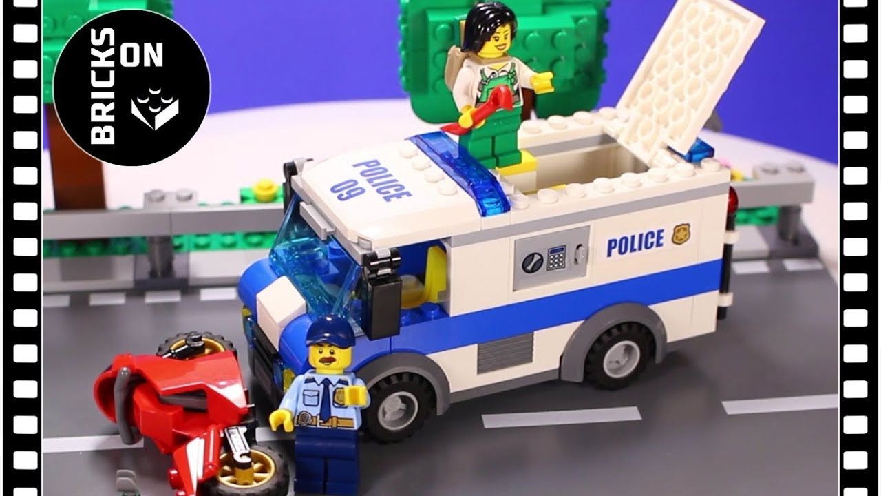 Vintage Lego City Police Set 60142 Money Transporter Very Fast And Well Made Speed Build Stop Motion Animatio Lego City Police Lego City Police Sets Lego City