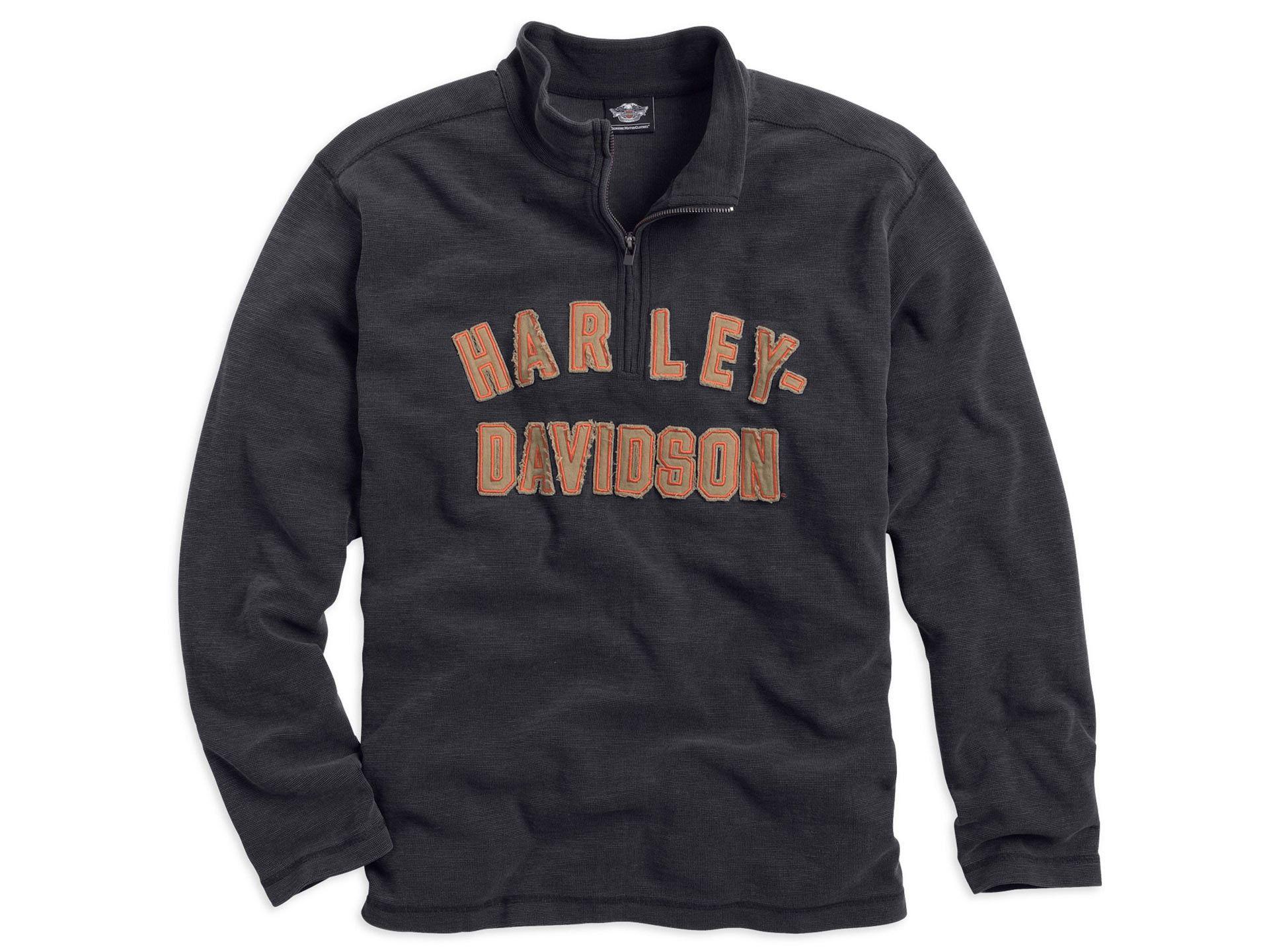 original harley-davidson sweatshirt made of 100% cotton