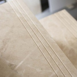 Best Bianca Perla Step Tread Polished Limestone Step Treads 400 x 300