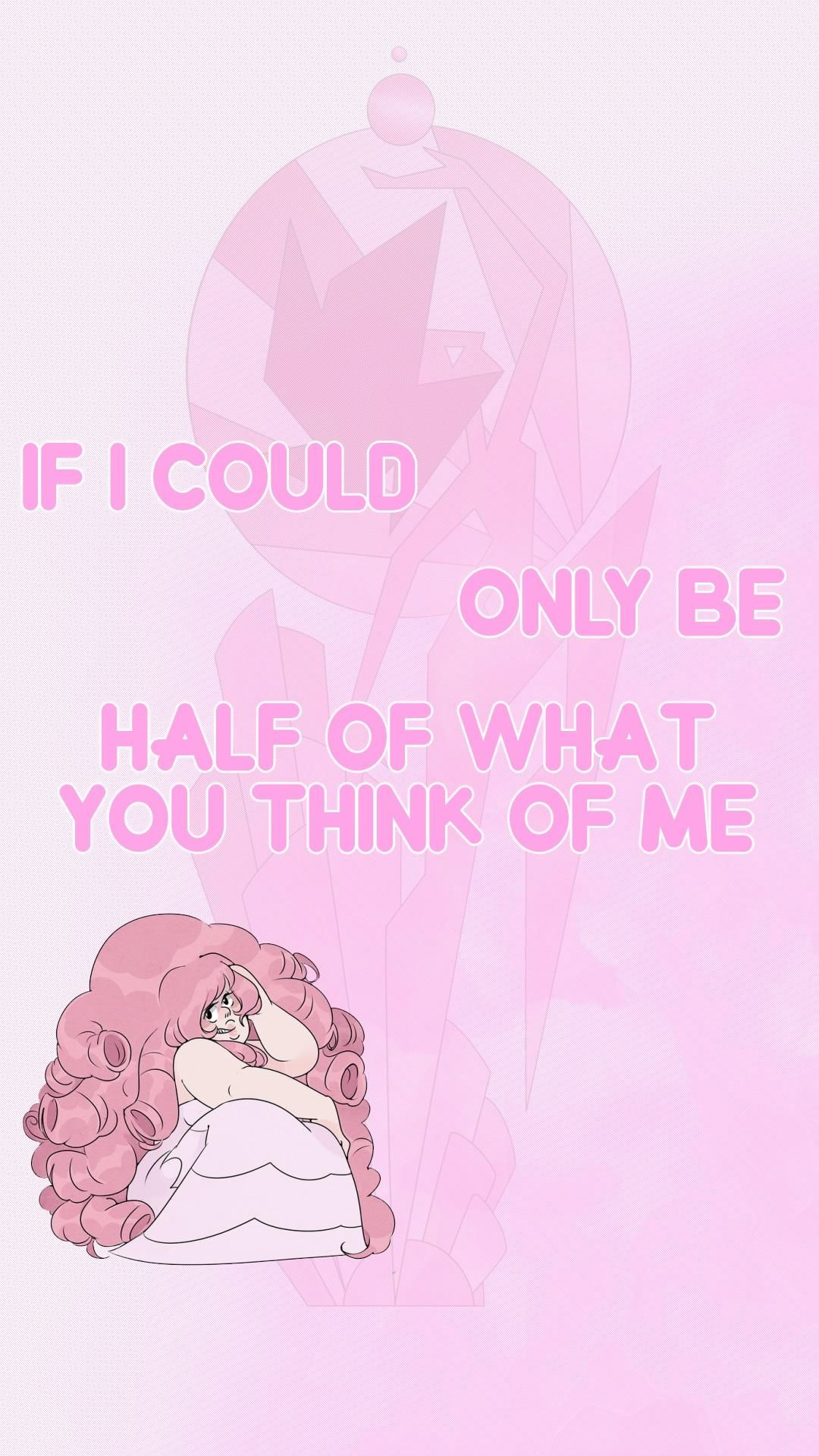 Wife Requested A Rose Quartz Steven Universe Lockscreen Wanted
