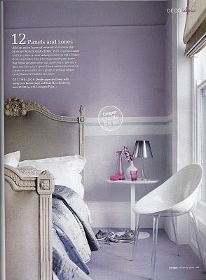 Down And Out Chic Lilac Bedrooms Lilac Bedroom Lavender Bedroom Modern Chic Bedrooms