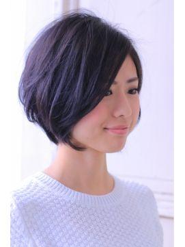 やっぱり黒色の髪型が可愛い♥黒髪のショート・ボブ・ミディアム・ロング