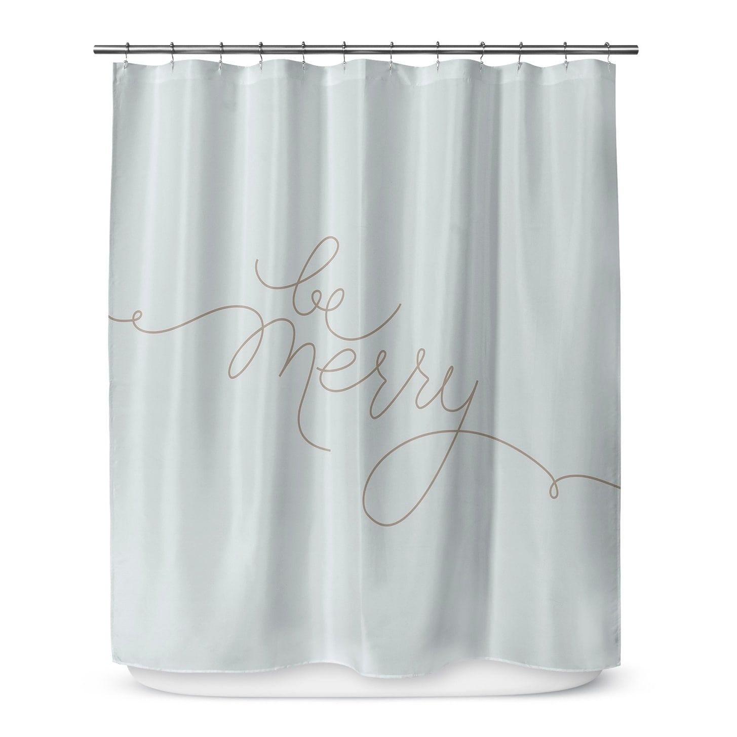 Kavka Designs Be Merry Shower Curtain | Products | Pinterest | White ...