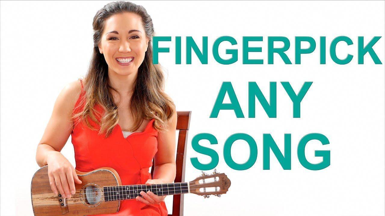 Fingerpick Any Song on the Ukulele for Beginners Easy