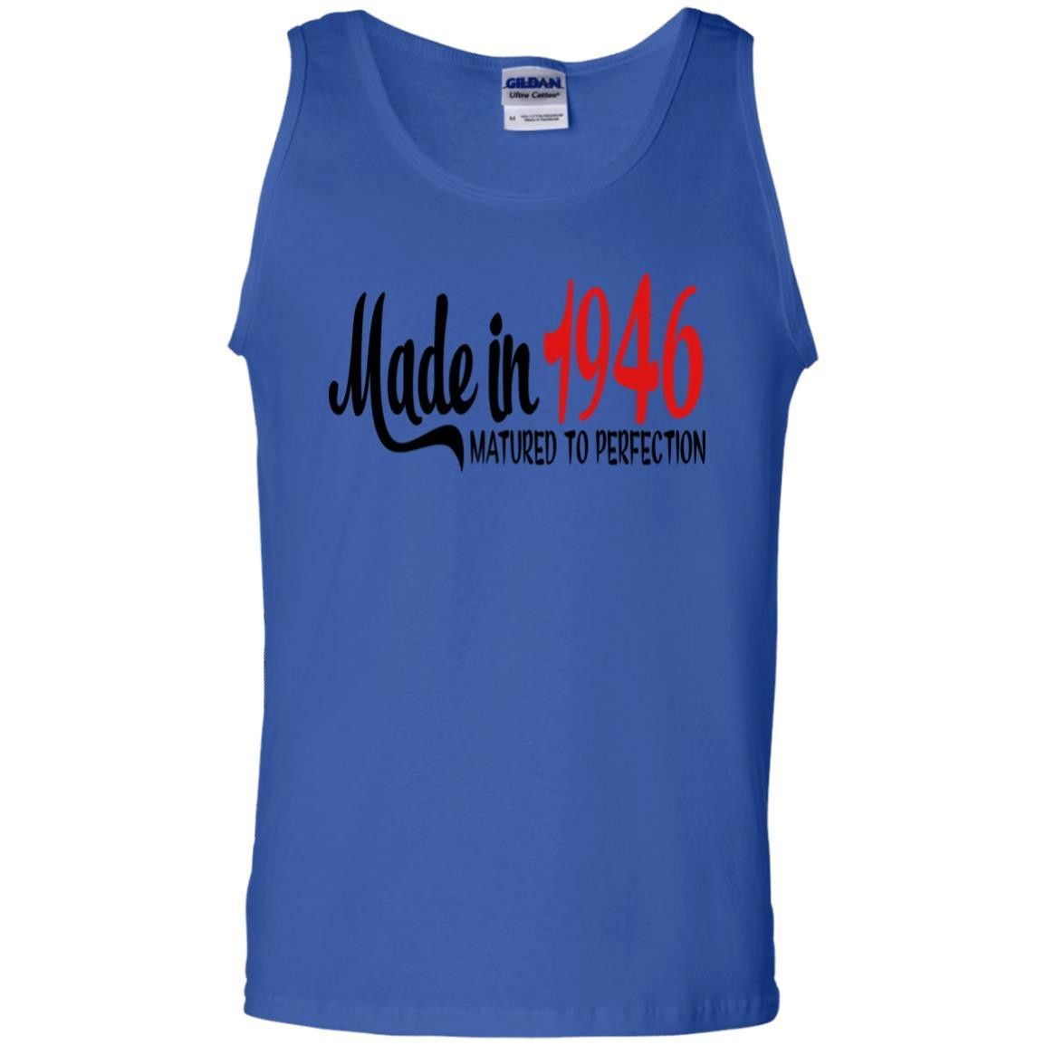 1946 G220 Gildan 100% Cotton Tank Top. Tank Tops