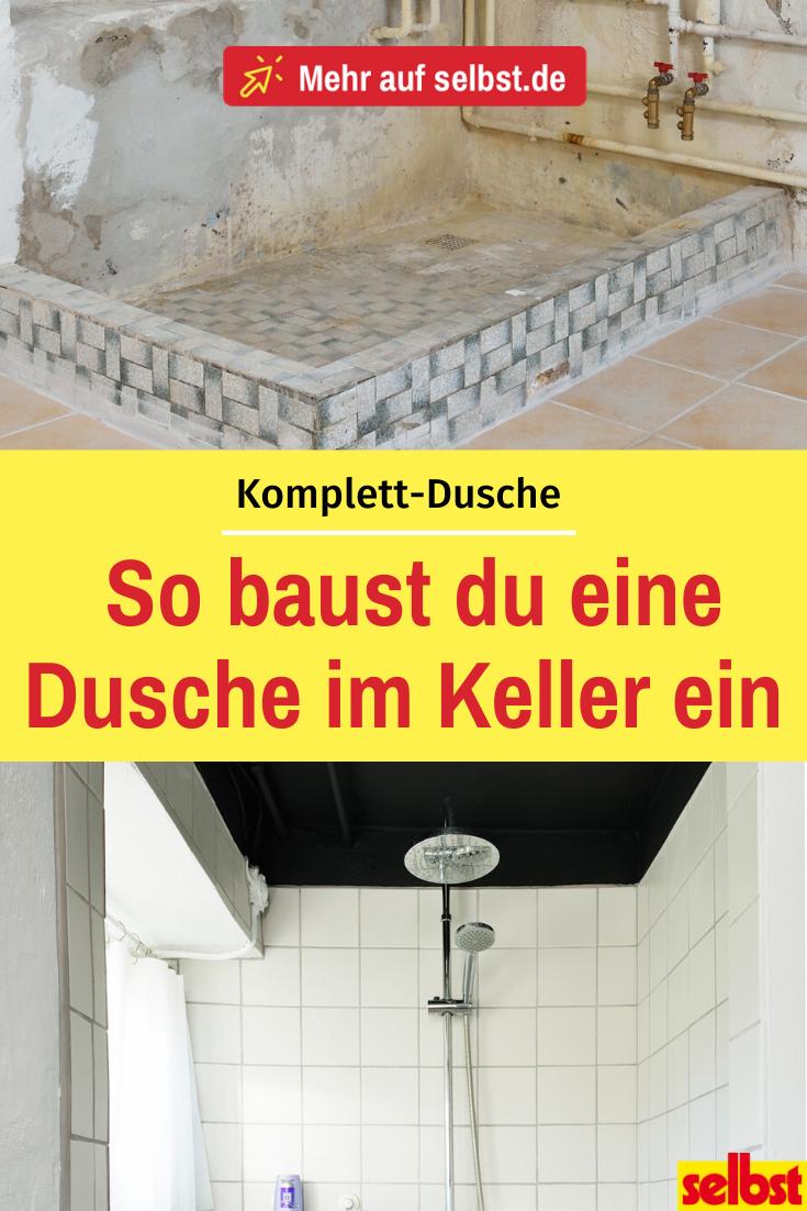 Dusche Komplett Selbst De In 2020 Im Keller Wc Renovieren Dusche