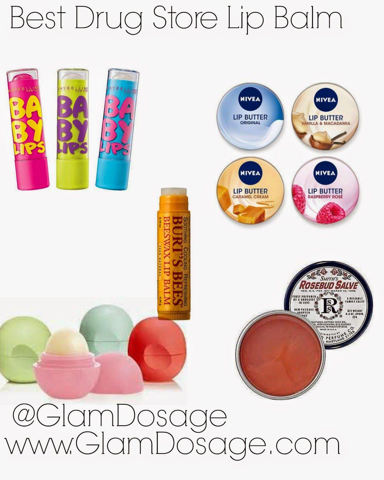 Best Drugstore Lip Balms Http Www Glamdosage Com 2014 06 Best
