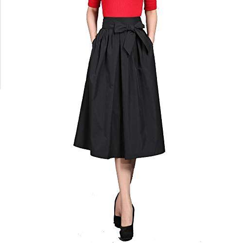cb2b7d525d8f7 ... Jupes femme by Euphoria Mall. AINIF L Automne Ne Une Longue Et Haute  Taille Et Grande JupeXXLBlack