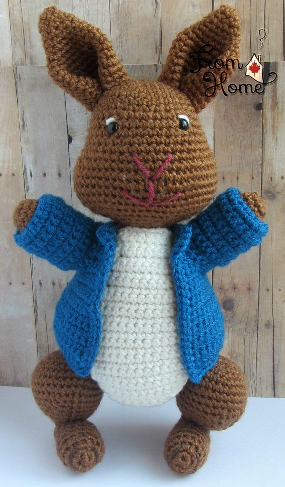 Mischievous Rabbit Named Peter Made to Order by From Home