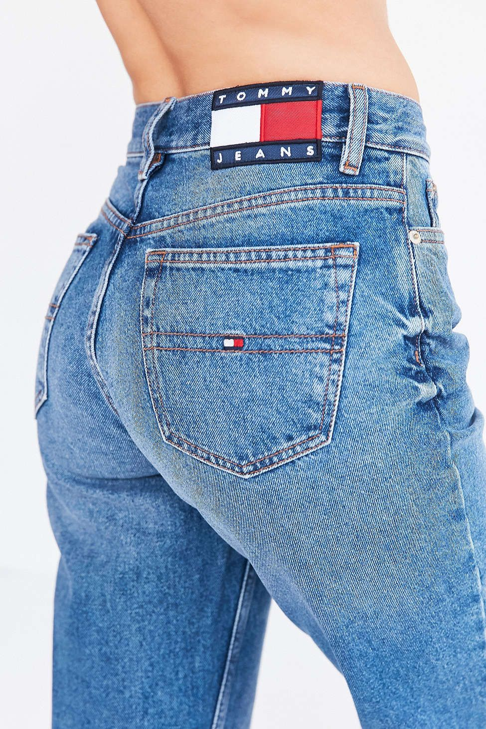 9323c5f9c5648 Tommy Jeans For UO  90s Mid-Rise Mom Jean   Cute Jeans Shorts skirts ...