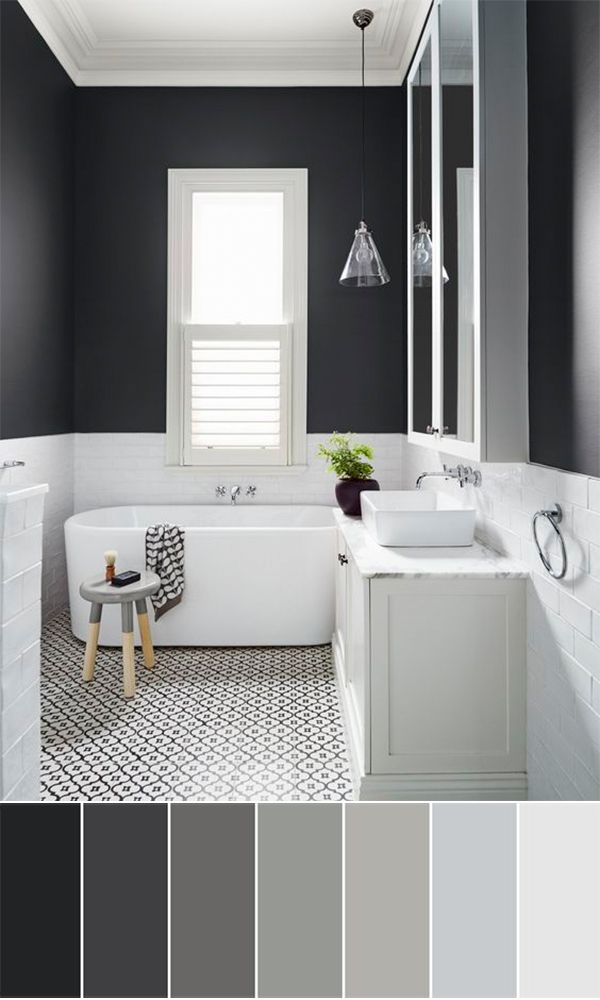 111 World S Best Bathroom Color Schemes For Your Home Homesthetics Inspiring Ideas For Your Home White Bathroom Designs Bathroom Interior Bathroom Design