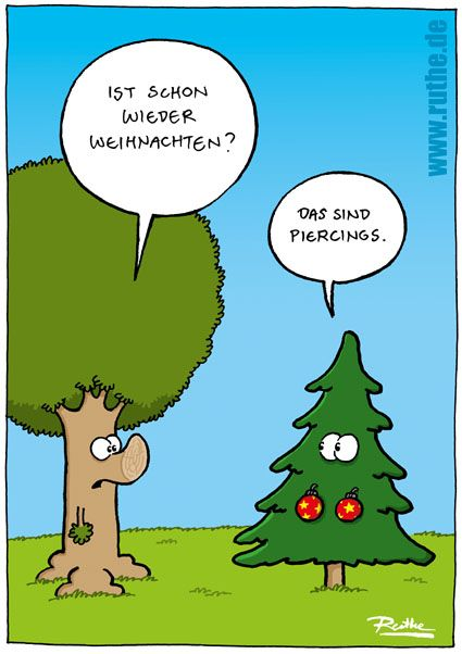Christbaumkugeln comic
