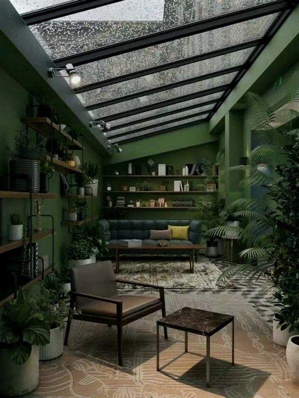 Photo of Conservatory decorating ideas for four seasons – unique balcony & garden decor …