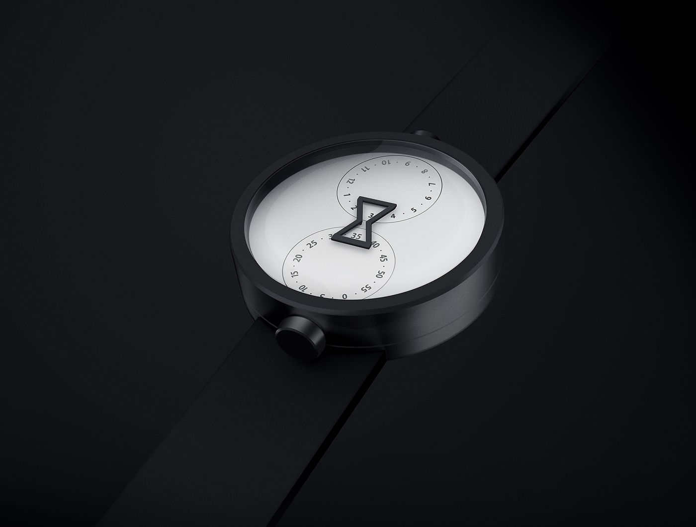 "Five years ago Anton designed the minimal and simple OZO watch, and in 2010 it won the ""Best of the Best: Design Concept"" Red Dot Award. The watch has two dials, one with hours at the top and the other with minutes at the bottom. When they rotate they tel…"