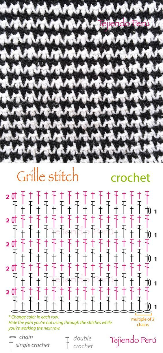 grille stitch diagram (pattern or chart): | Costura | Pinterest ...