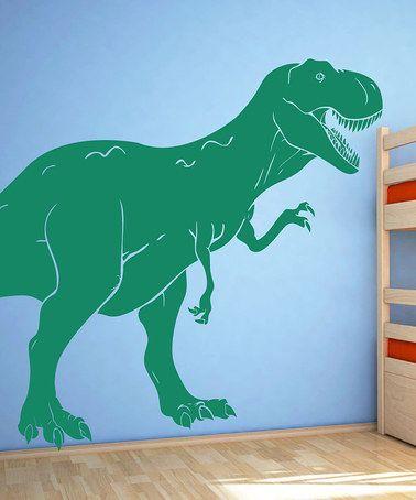 T Rex Dinosaur Wall Decal Zulily Decoracion Para Ninos Dinosaurios Ninos