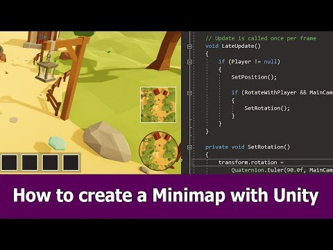 2 How To Create A Minimap With Unity Youtube Unity Game Engine Low Poly Games