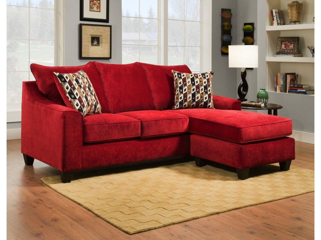 Brilliant American Furniture Elizabeth Crimson Sectional Affordable Pabps2019 Chair Design Images Pabps2019Com