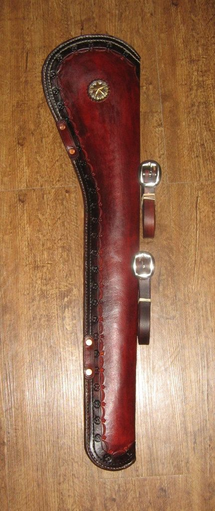 Made To Order Saddle Scabbard For Rossi Carbine By Picketwire1881 With Images Leather Holster Leather Holster Pattern
