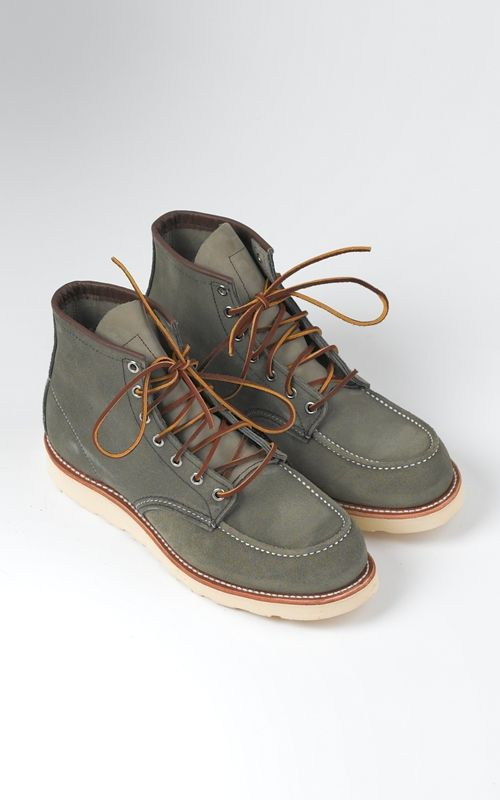 Red Wing Boots 8139 Classic Moc Sage Mohave
