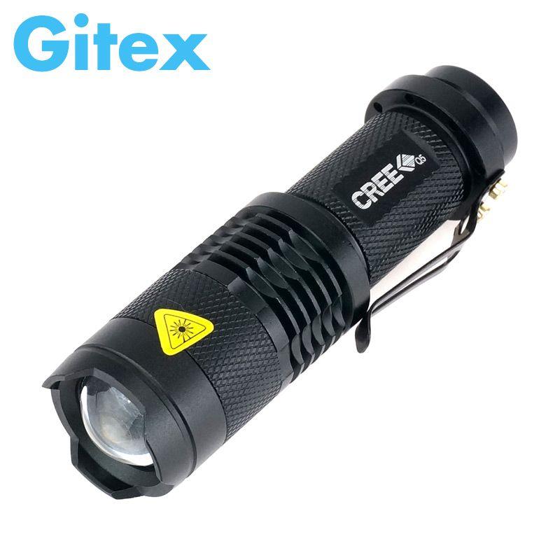 Wysokiej Jakosci Mini Latarka Led Cree Q5 Led Latarka 3 Tryby Zoomable Lm Wodoodporna Led Torch Regulacja Penlight Led Flashlight Torch Light Flashlight
