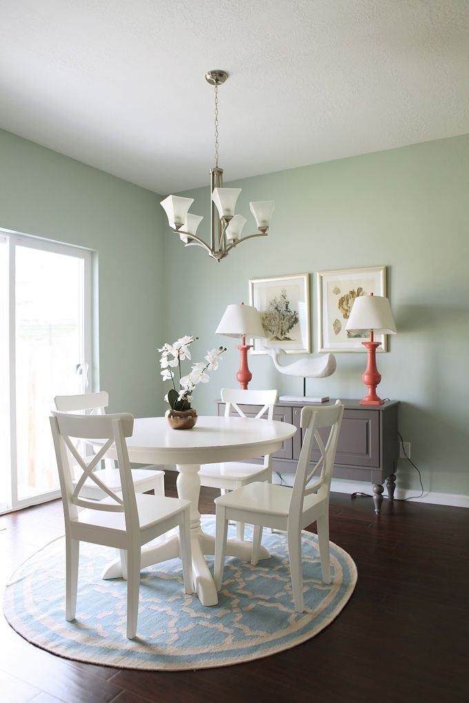 House Of Turquoise Kirsten Krason  Dining Rooms  Pinterest Simple Dining Room White Design Decoration
