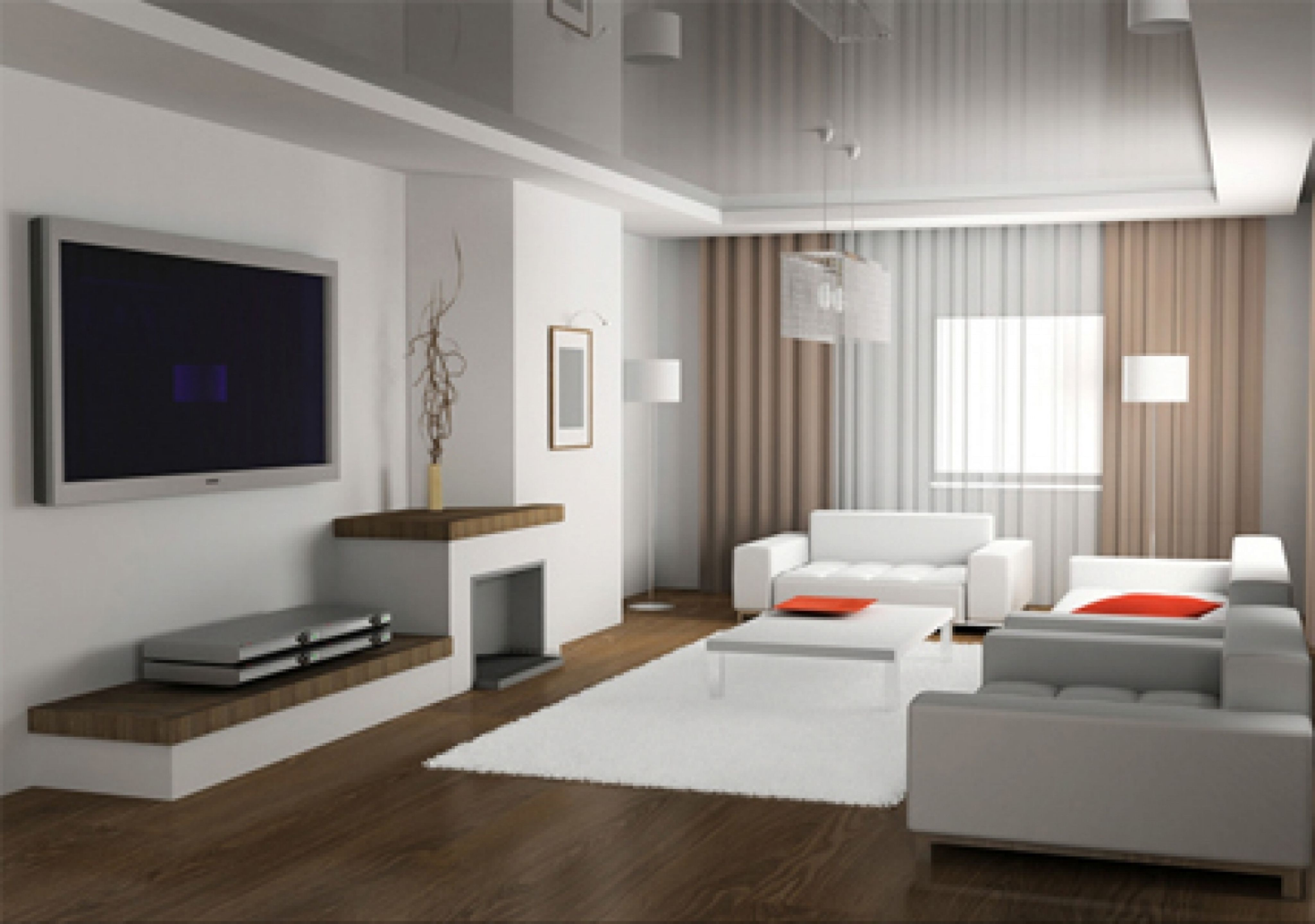 Modern Living Room - most popular interior paint colors | Modern ...