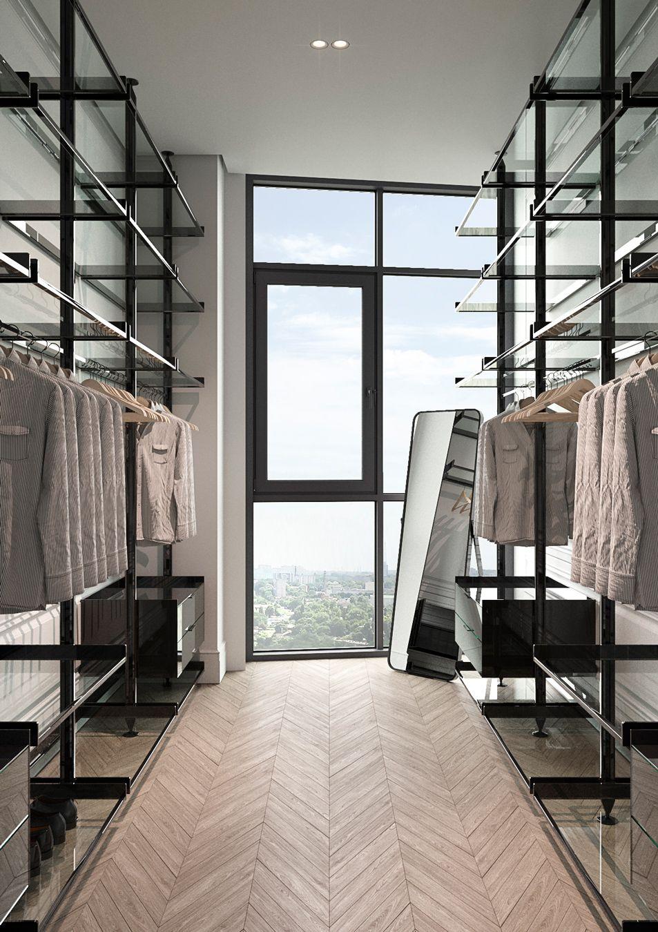Penthouse on Behance | Modern luxury bedroom, Master ...
