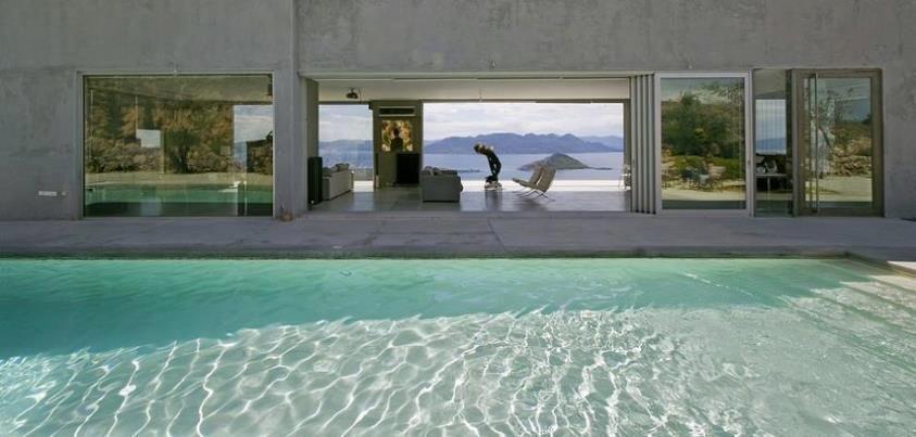 aegina island greece private residence