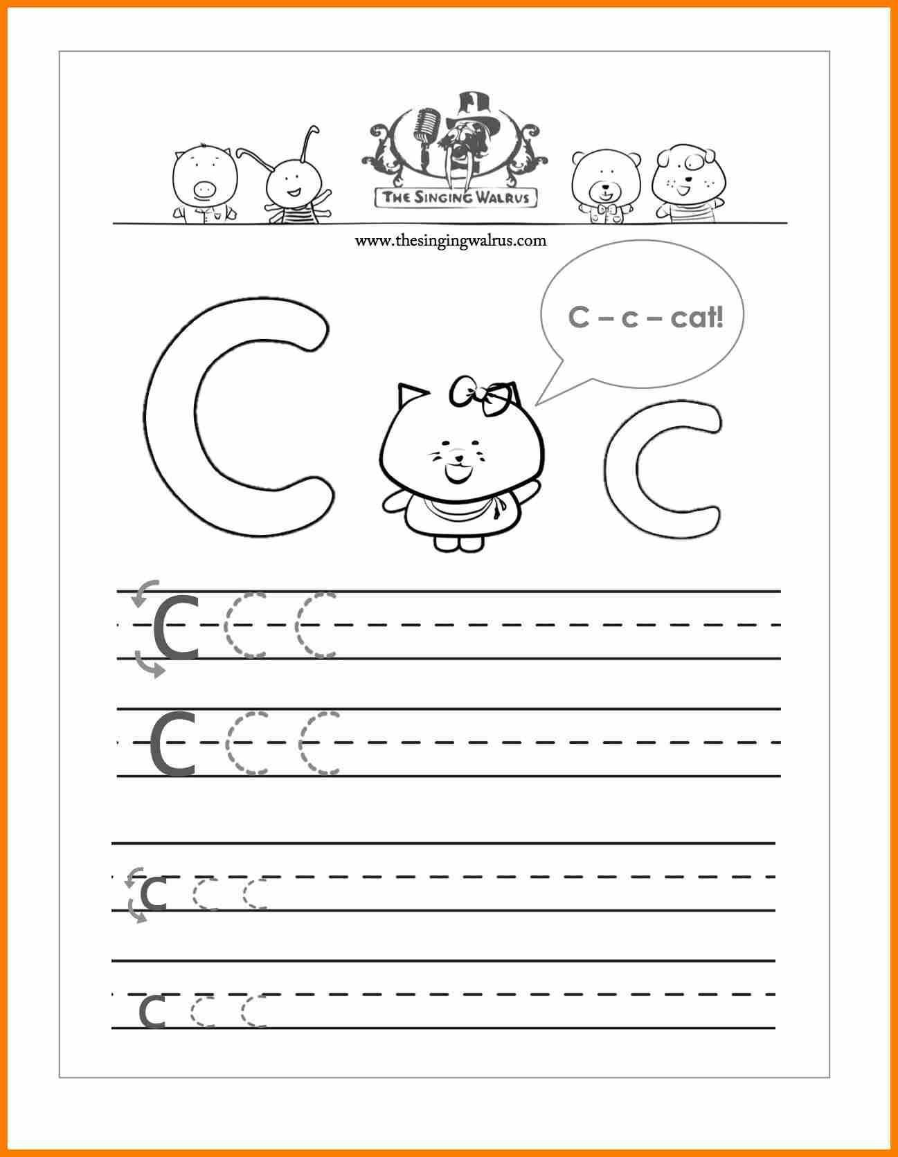 10 Practise Writing Letters In 2020 Free Handwriting Worksheets Letter Worksheets Letter C Worksheets