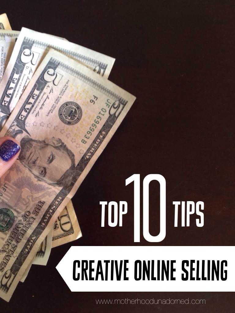 Top 10 Tips for Creative Online Selling. Simple and effective ideas to enhance sales of at-home, online businesses such as on Etsy. Great for moms creative outlets like jewelry making, knitting, crocheting and sewing.