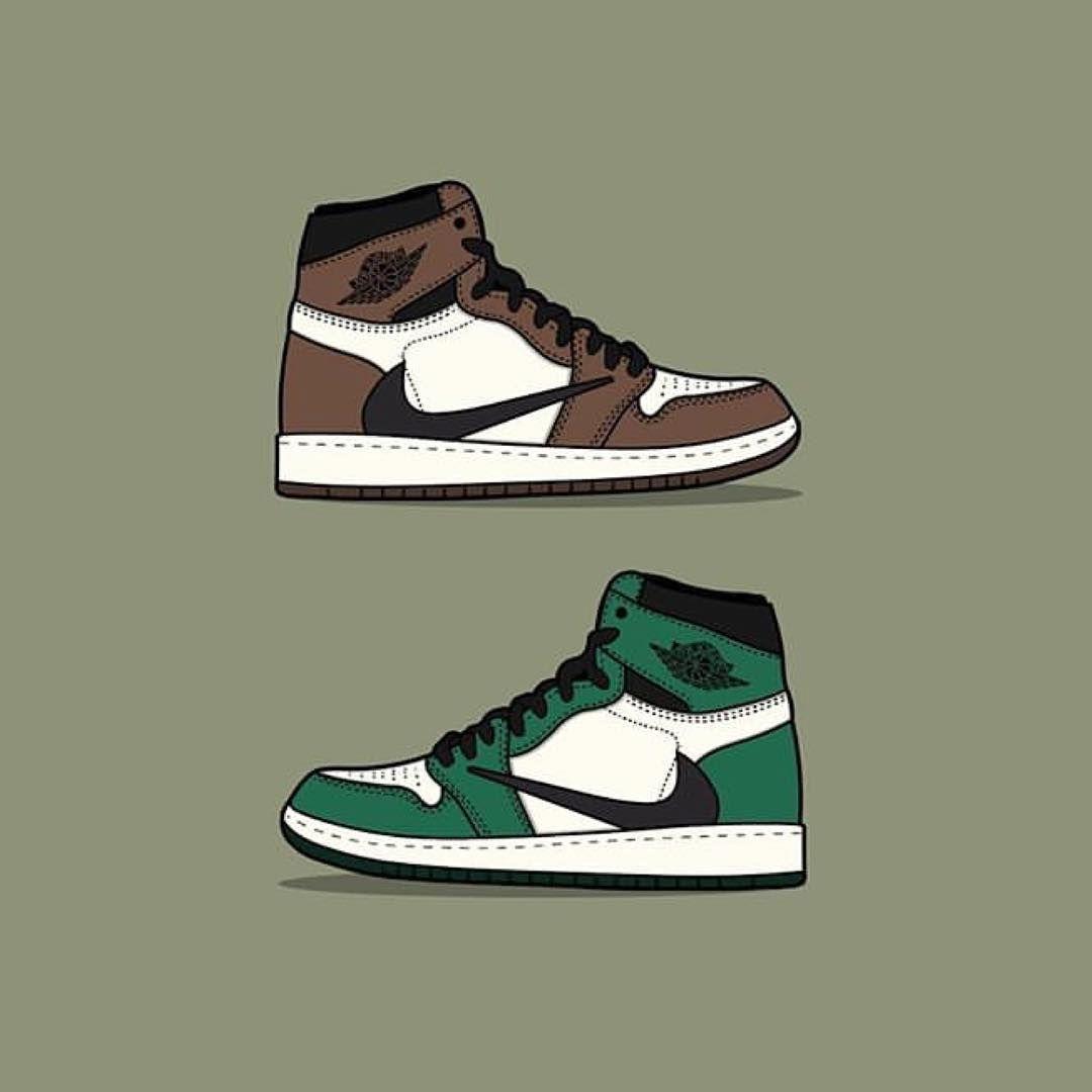 Pare Che Per Le Jordan 1 By Travis Scott Ci Sia Anche Una Variante Verde Piu Rara Secondo Voi Quali Sono Le Miglior Sneakers Wallpaper Travis Scott Sneakers