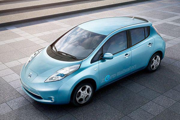 Top 10 Green Cars 2011 With Images Nissan Leaf Nissan Leaf