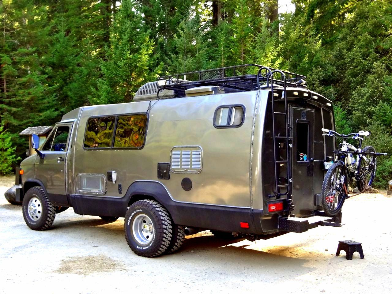 When you re seriously serious about all terrain freedom camping a series if off road rv s