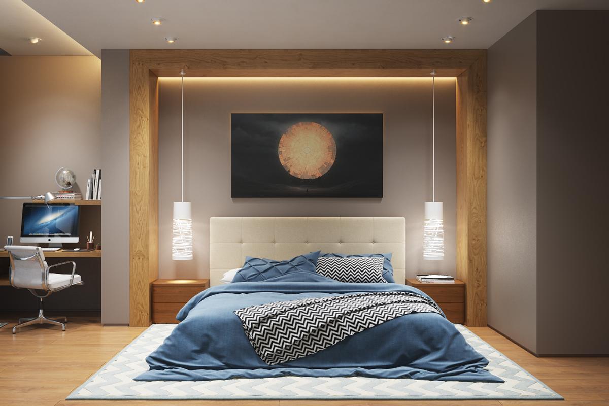 luminaire chambre pour un int rieur l gant et design. Black Bedroom Furniture Sets. Home Design Ideas