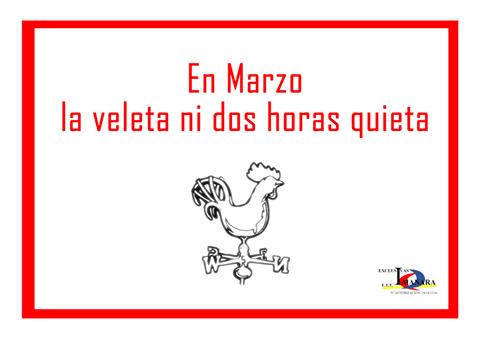 #BienvenidoMarzo
