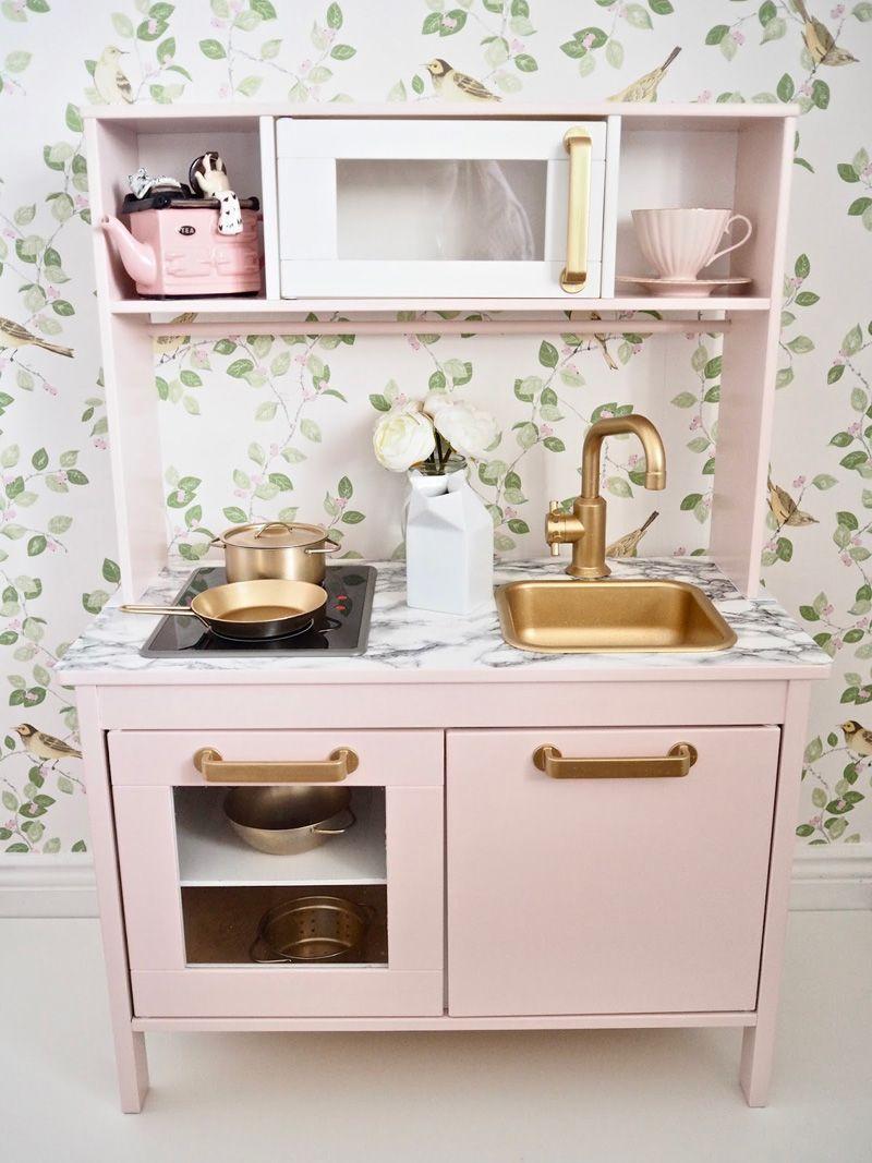 Ikea Duktig Play Kitchen Makeover Hacks Grillo Designs