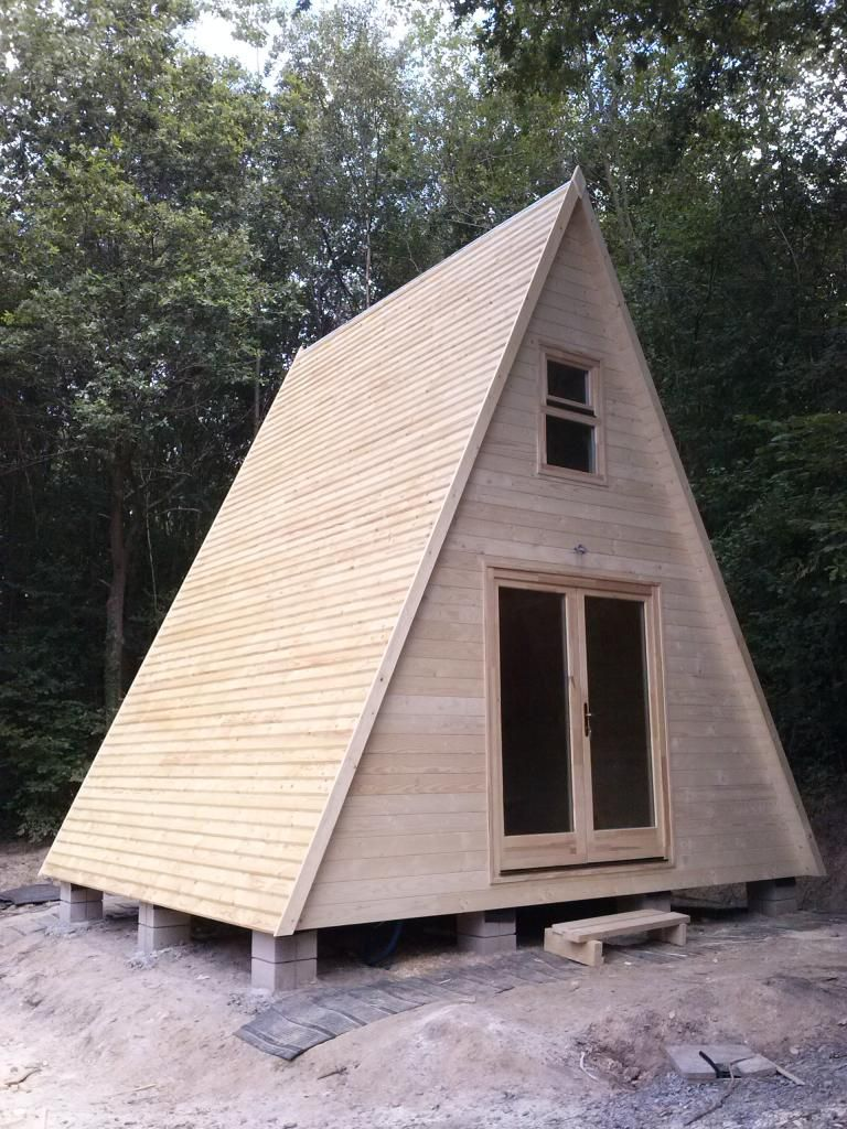 A Frame In 2019 Tiny House Cabin Tiny House A Frame House