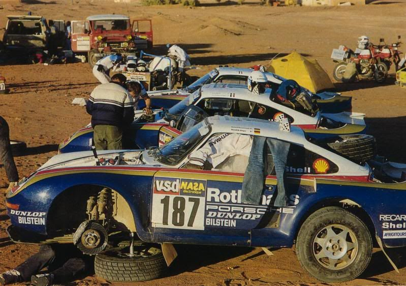 Image result for porsche 959 dakar