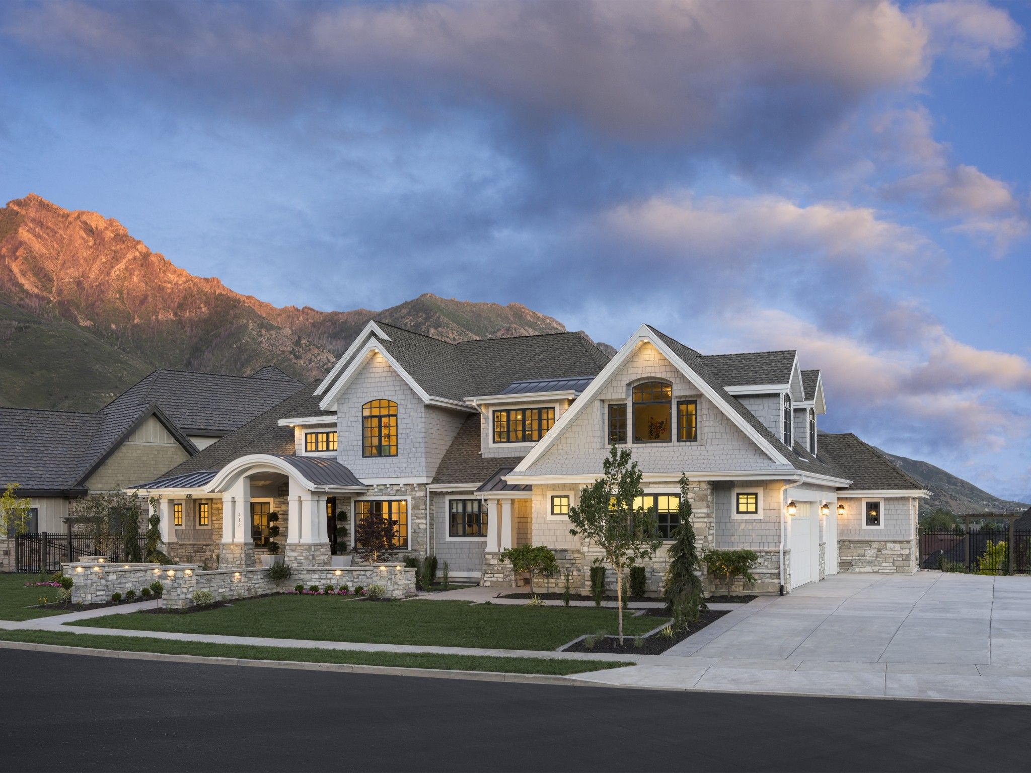 McEwan Residence PureHaven Homes Craftsman style house