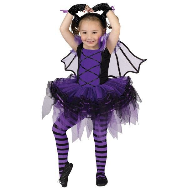 Toddler Bat Ballerina Costume Halloween ideas Pinterest - halloween costumes for girls ideas