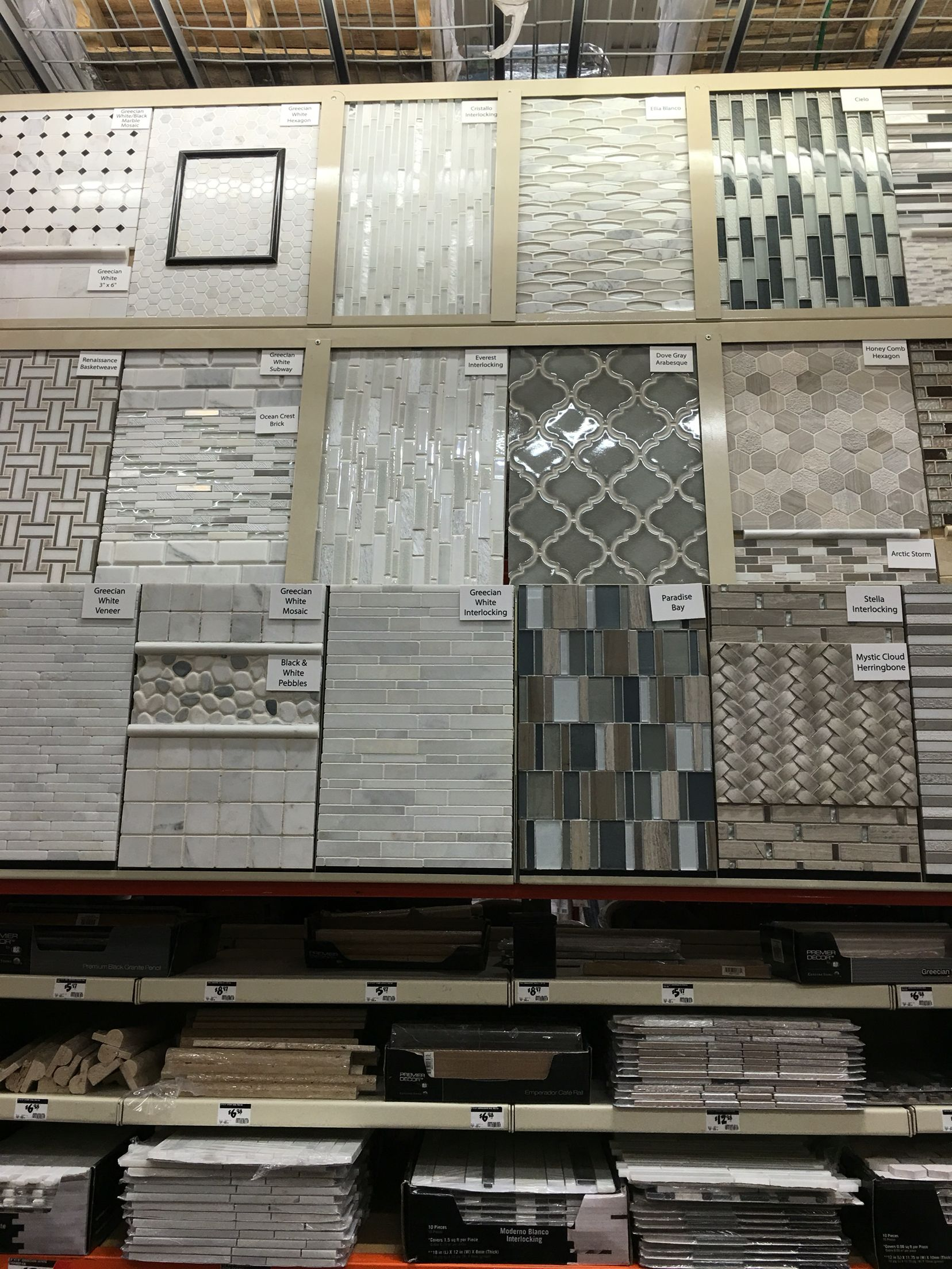 Arabesque Backsplash At Home Depot Updated Kitchen New