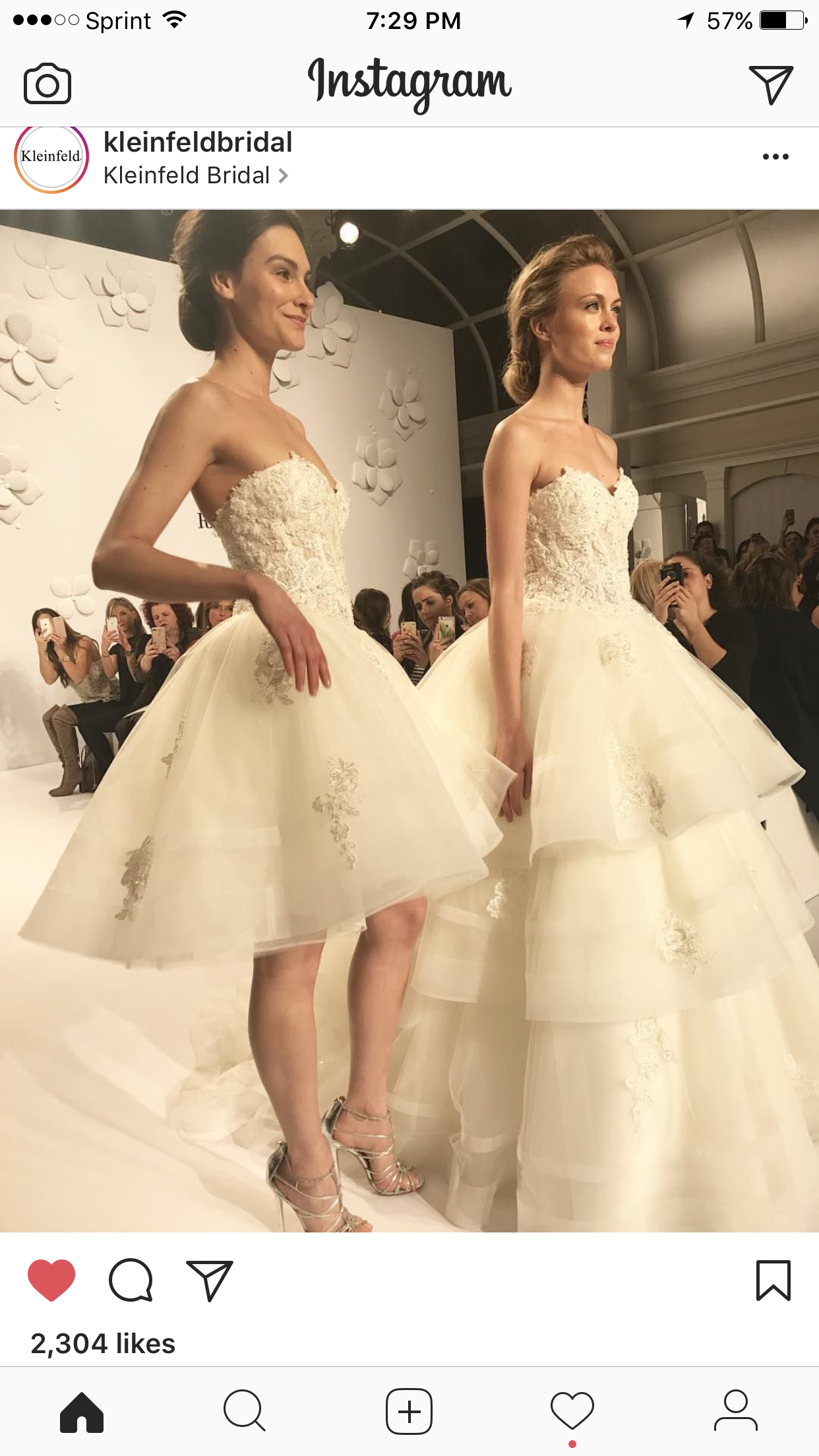 2 In 1 Dress Randy Fenolis First Wedding Dress Collection Runway At