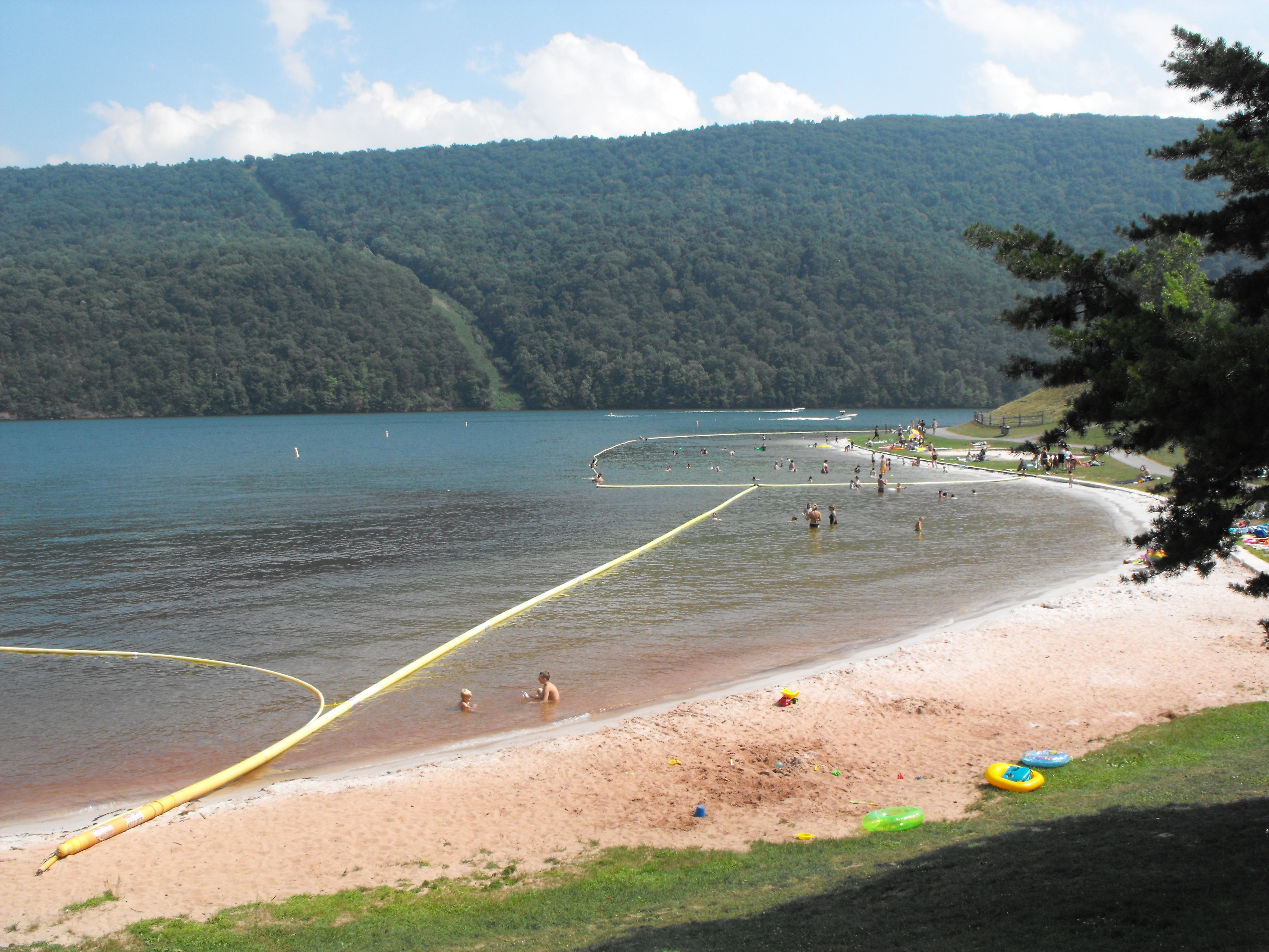 Raystown Pa Seven Point Beach