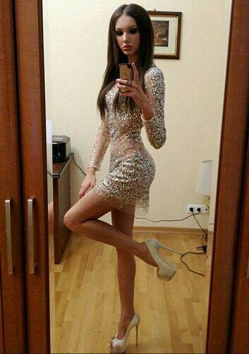 Remarkable, and Transvestite evening dress