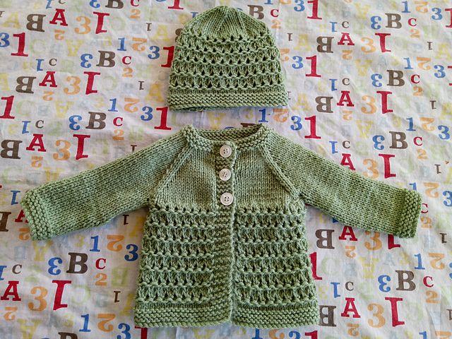 Ravelry: Kensington Baby Jacket pattern by marianna mel | Knitting ...