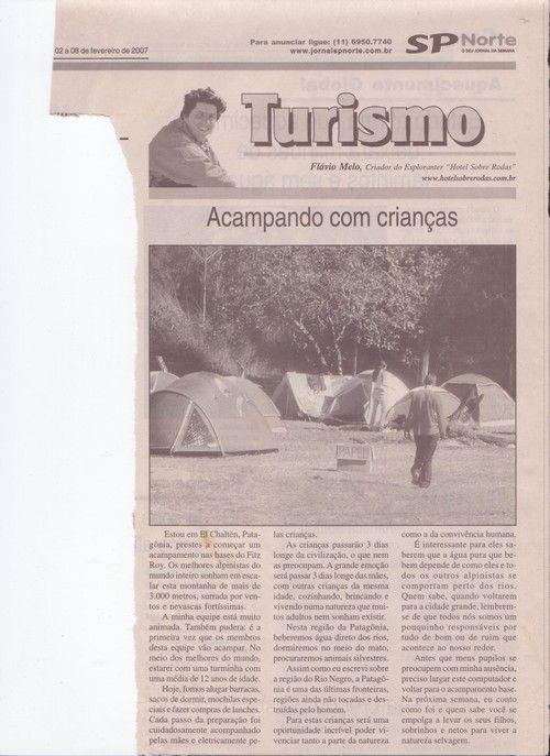 Acampando na Patagonia com Crianças – parte 0 – Publicado em 08 de fevereiro de 2007