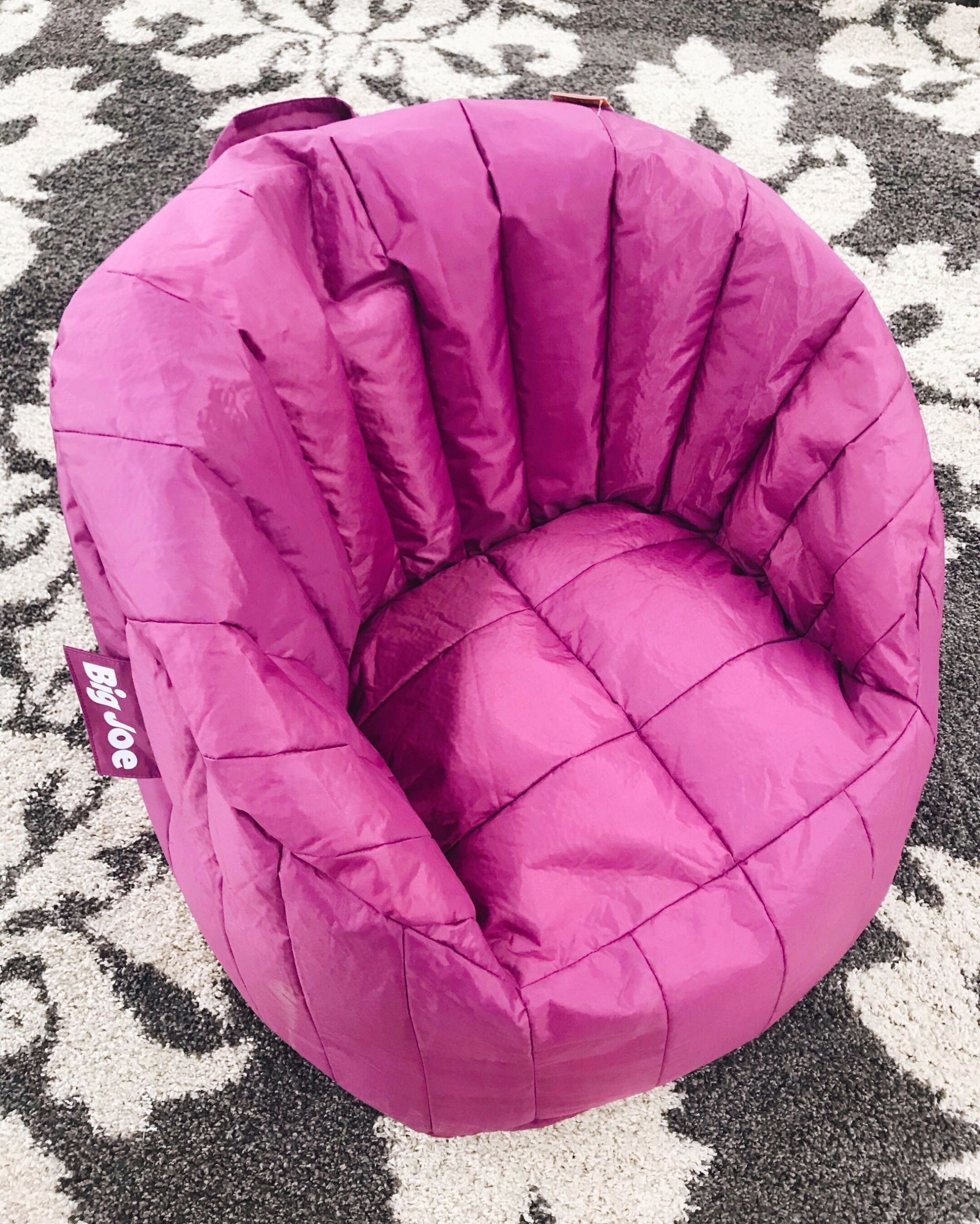 Big Joe Chairs Are Made With Smartmax Fabric Which Is Tough Waterproof Stain Resistant And Easy To Clean Off Comfy Stylish Seating Bean Bag Chair Furniture